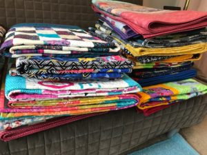 Allstar Quilts donated in May