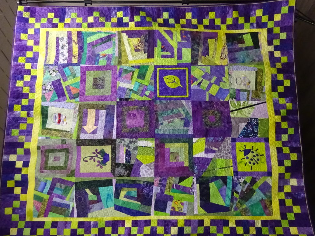 Quilt by Sally Miller